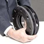 Rubber Flange Flages in Various Sizes